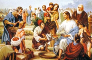 Jesus - Loaves and Fish